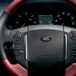 صورة عجلة القيادة الانسيابية للسيارة رينج روفر سبورت 2013