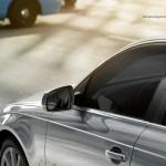 المرايا الجانبية ذات الشكل المميز للسيارة اودي A4