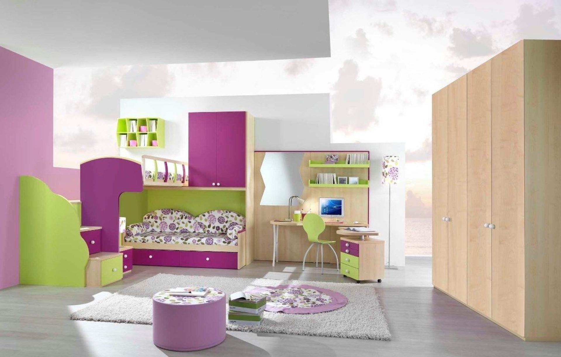 غرف نوم اطفال بنات | المرسال