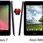 Asus-Nexus-7  & MeMO-Pad 10 - 10469