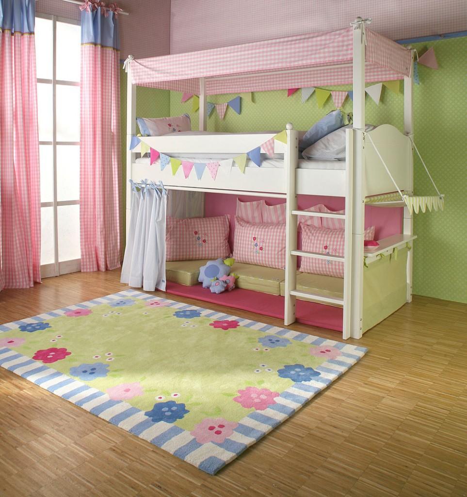 سرير الدور الثاني اطفال   المرسال