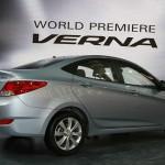 صورة من الخلف لهيونداي فيرنا 2013 Hyundai-Verna - 12654