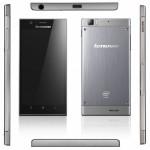 صور هاتف لينوفو IdeaPhone K900  باللون الاسود والفضي ومن جميع الجوانب
