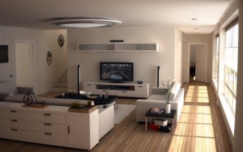 ديكورات غرف تلفزيون | المرسال