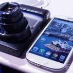 مواصفات سامسونج جلاكسي اس 4 Samsung Galaxy S4 Zoom باللون الابيض والاسود