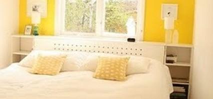 اللون الاصفر في ديكورات غرف النوم | المرسال