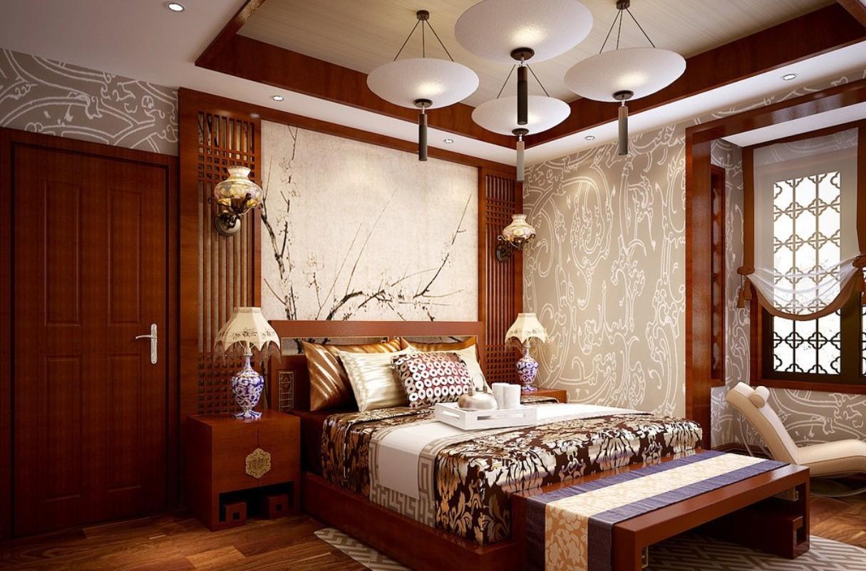 روعة وجمال غرف النوم الصينية | المرسال