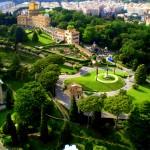 حدائق الفاتيكان الساحرة في مدينة الفاتيكان