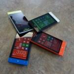 اللوان جذابه مع اتش تي سي ويندوز فون 8 اس
