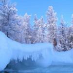 جمال بحيرة بايكال فى الشتاء - 21033