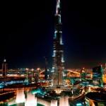 برج خليفة بإضاءات مميزة - 19500