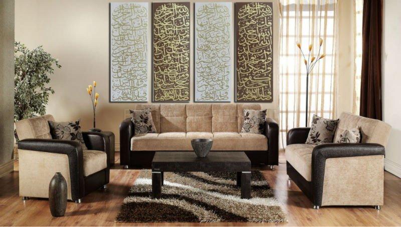 اضافة الخط العربي للديكور بساطة-لوحات-الخط-الع