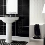 أحدث الحمامات السوداء الفاخرة للمنازل الفاخرة