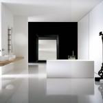 تصميم لحمام جميل بأثاث راقي - 18730