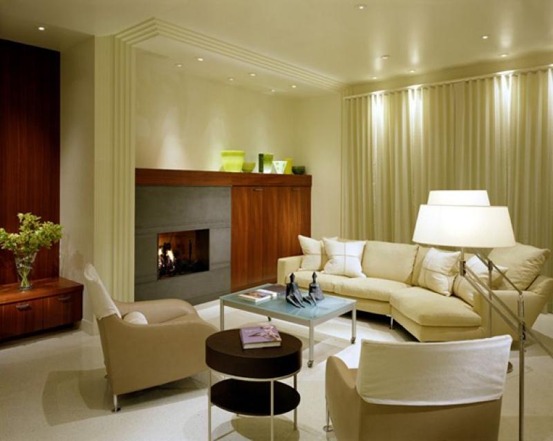 تصميم لغرفة معيشة جميلة