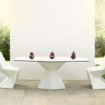تصميم لكراسي الحدائق باللون الأبيض - 20450