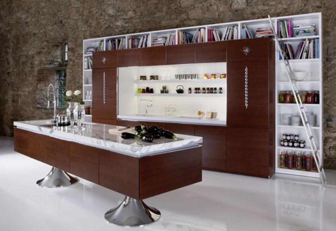 تصميم مطبخ مفتوح حديث ومميز
