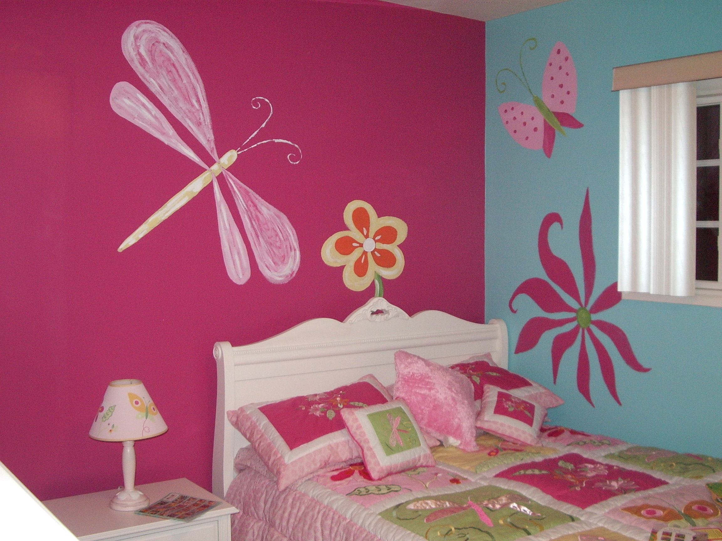 easy wall painting ideas imanada bedroom purple paint for