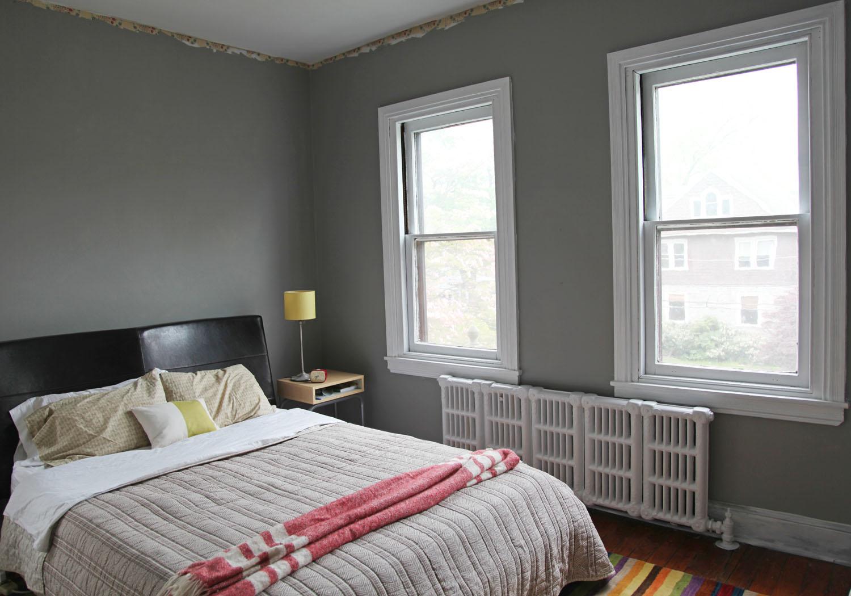 تعتيق للجدران باللون الرمادي رائع المرسال