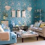 جمال اللون التركواز في الجدران - 21335