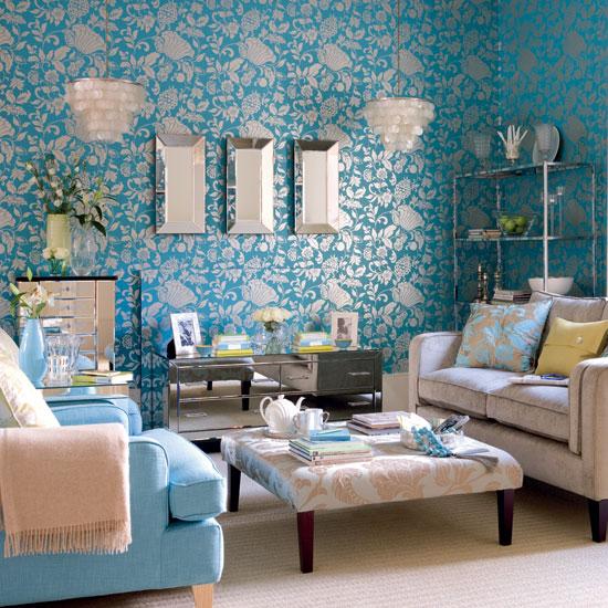 جمال اللون التركواز في الجدران المرسال