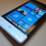 شاشة لمسية بهاتف اتش تي سي ويندوز فون 8 اس 4 بوصة