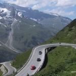 """الطريق البانورامي """"جروسج لوكنر ، طريق جبال الألب"""" في النمسا"""