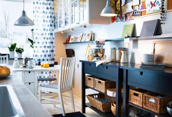 الإبداع فى تصميم غرف طعام إيكيا | المرسال