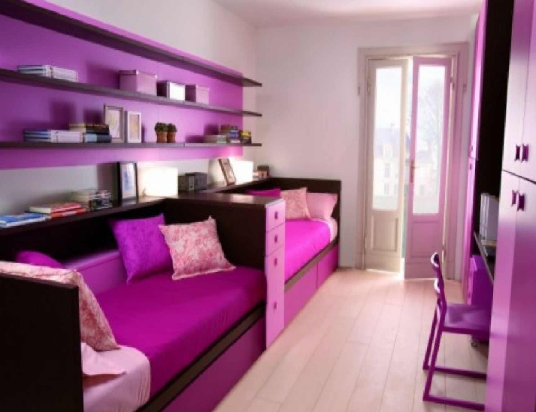 تصميم غرفة نوم لطفلين المرسال