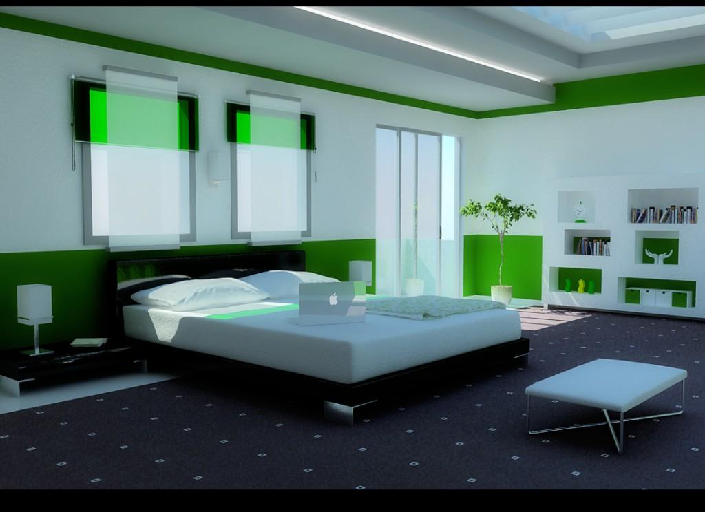 تصاميم مذهله وجديده لغرف النوم غرفة-نوم-مودرن-جذابة