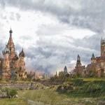 """قلعة """"كرملين موسكو"""" فى روسيا"""