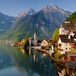 البقعة السياحية الكبيرة هالستات في النمسا