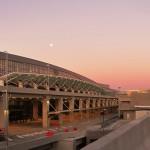 مشاهدة غروب الشمس من مطار أتلانتا