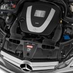 صورة المحرك القوى للسيارة مرسيدس e200