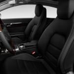 صورة المقاعد الامامية للسيارة مرسيدس e200