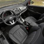 صورة المقاعد الامامية للسيارة كيا سبورتاج 2014