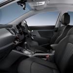 صورة للسيارة كيا من الداخل