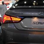 الصندوق الخلفي للسيارة هيونداي سوناتا 2014