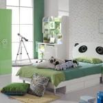غرف اطفال بألوان جذابة