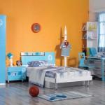غرفة نوم الأطفال بدهانات مثيرة