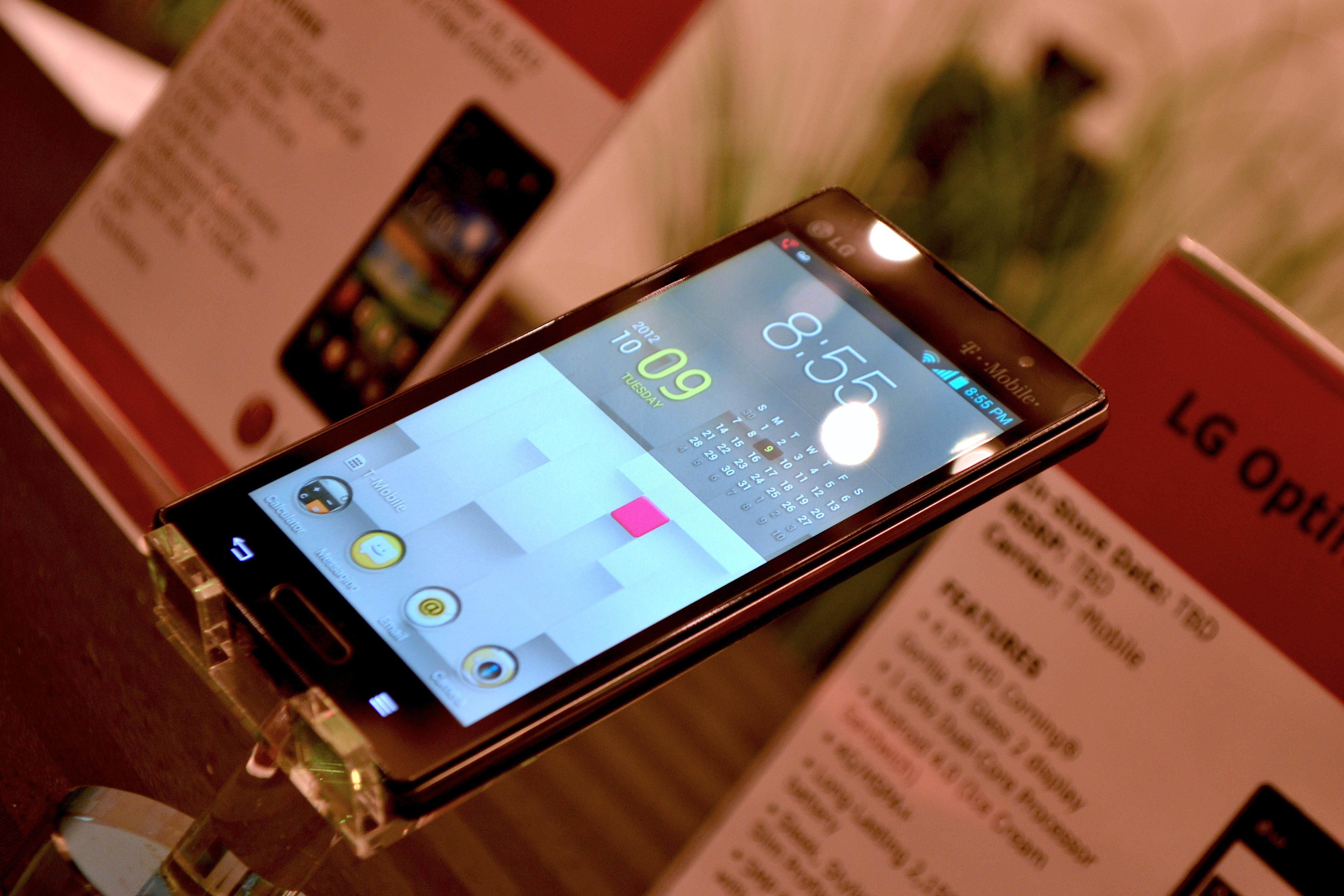 صور هاتف ال جي اوبتيموس ال 9 T-Mobile