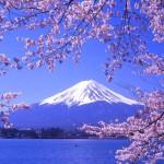 جبل فوجي الأعلي في اليابان
