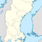 خريطة الموقع في السويد  - 23499