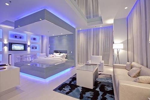 تصميم غرفة نوم غريبة ساحرة | المرسال