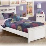 غرفة نوم باللون الأبيض للأطفال - 21995