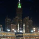 جمال برج الساعة بجانب الحرم مساءاً - 23535