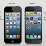 مقارنة بين ابل ايفون 5 اس وايفون 5
