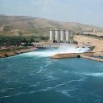 سد الموصل في العراق