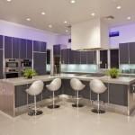 تصاميم مطابخ مفتوحة علي الصالة مدهشة - 28627