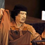 الرئيس معمر القذافي